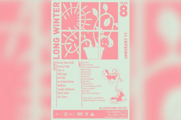 ​Long Winter Announces January Edition with Korea Town Acid, Boosie Fade, Kiwi Jr.