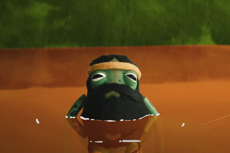 Aesop Rock and Jeremy Fish Celebrate World Frog Day with 'Long Legged Larry' Single