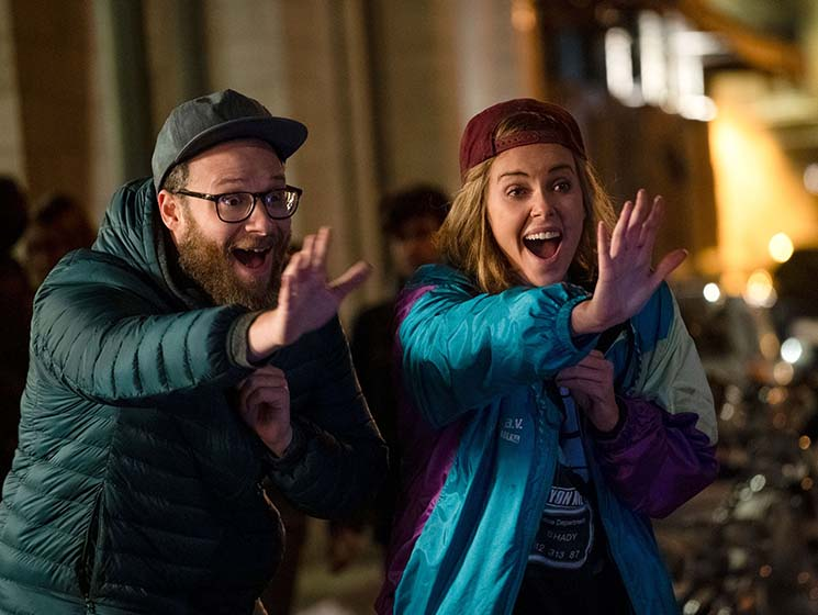 'Long Shot' Doesn't Risk Political Heavy-Lifting in Its Rom-Com Construction Directed by Jonathan Levine