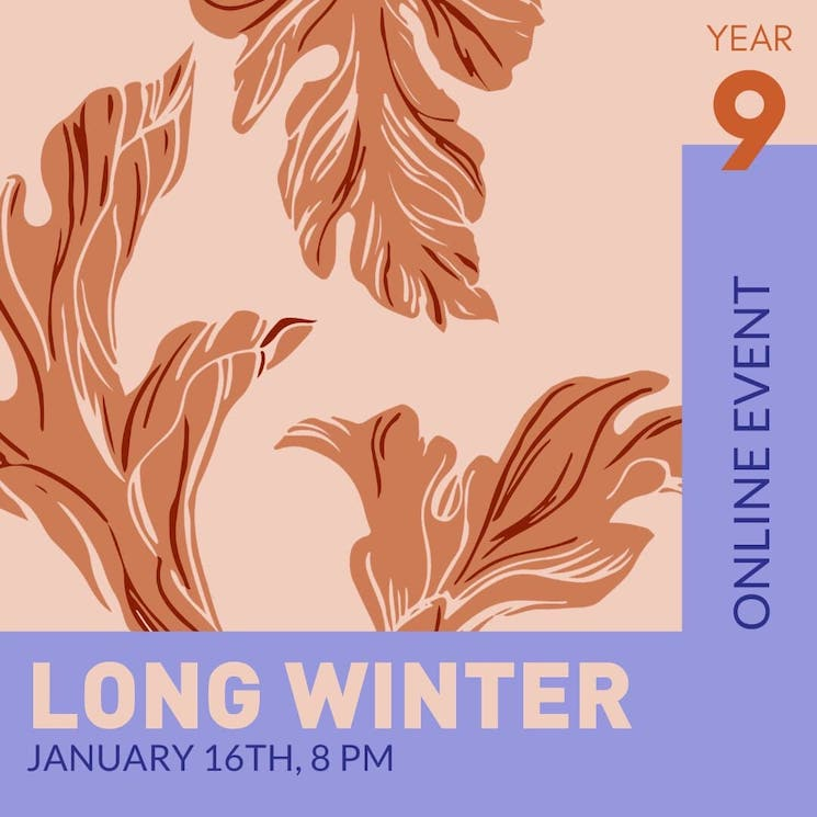 Long Winter Announces Digital January Edition with Lydia Persaud, Poolblood
