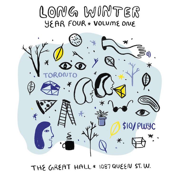 Toronto's Long Winter Kicks Off with Calvin Love, Laugh Sabbath