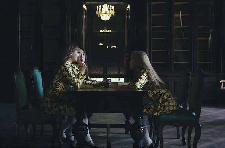 "​Grimes Teases ""love4eva"" with K-Pop Group Loona"
