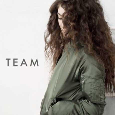 """Lorde """"Team"""""""