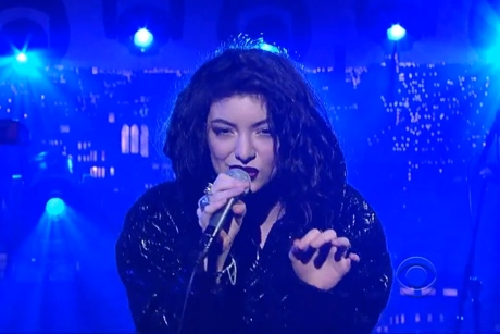 Lorde 'Live on Letterman' (full webcast)