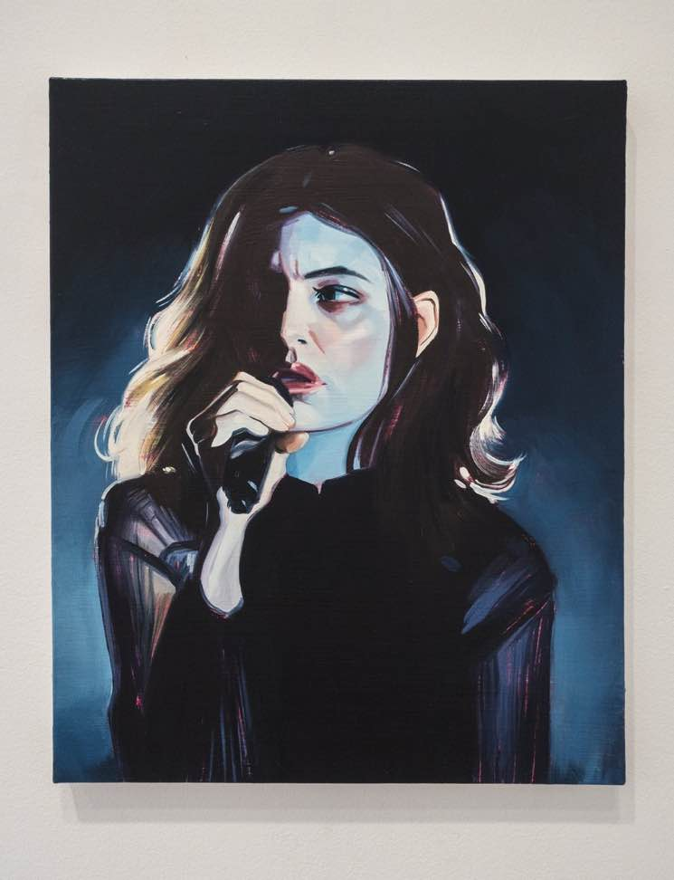 ​Lorde Unveils New Portrait by 'Melodrama' Album Cover Painter