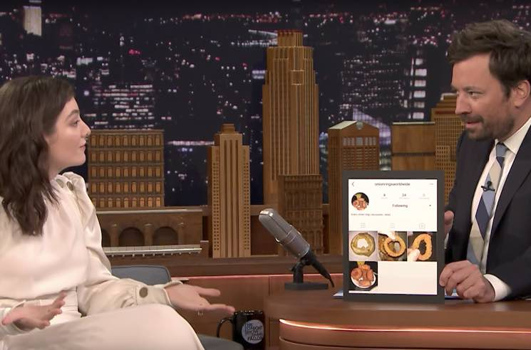 """Lorde Admits to Running """"Onion Rings Worldwide"""" Instagram Account"""