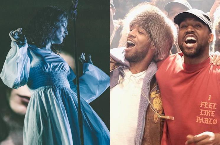 Lorde Accuses Kanye West and Kid Cudi of Stealing Her Stage Design