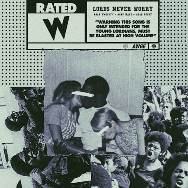 "A$AP Mob ""Cut It Out"" (ft. A$AP Ferg) / ""Lords Never Worry"" (ft. A$AP Twelvyy, A$AP Nast & A$AP Rocky)"