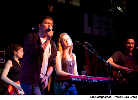 Los Campesinos! Lee's Palace, Toronto ON January 21