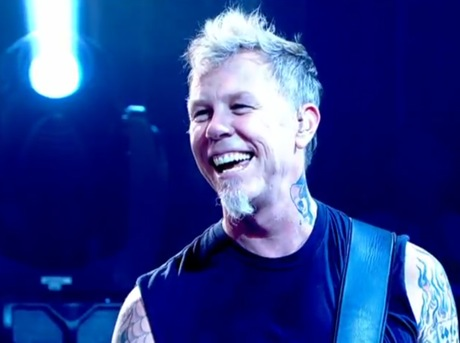 Metallica and Lou Reed Live on on 'Later with Jools Holland'