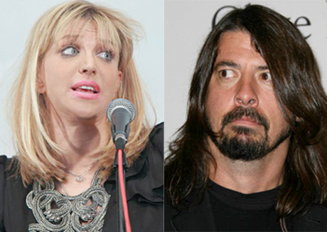 Beefs 2012: Courtney Love Accuses Dave Grohl of Hitting On Frances Bean Cobain