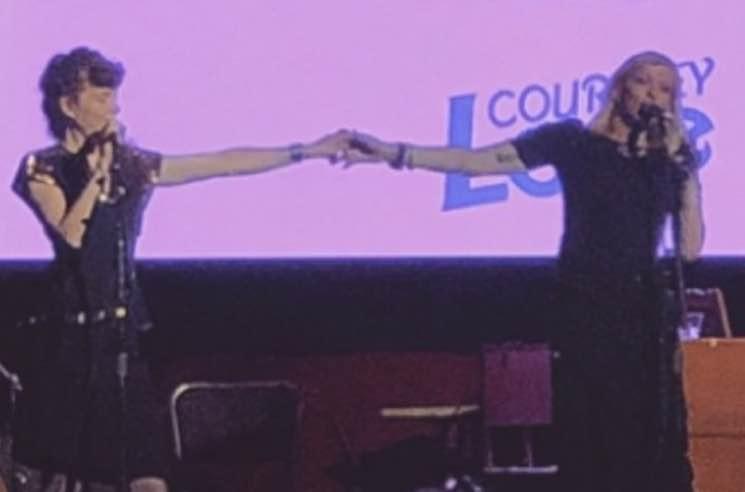 Watch Courtney Love and Melissa Auf der Maur Perform Hole Songs Together