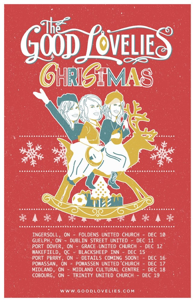 The Good Lovelies Book Canadian Holiday Tour