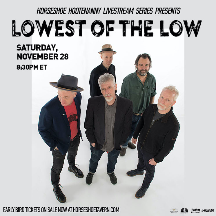 Toronto's Horseshoe Tavern Adds Lowest of the Low to 'Hootenanny' Concert Series