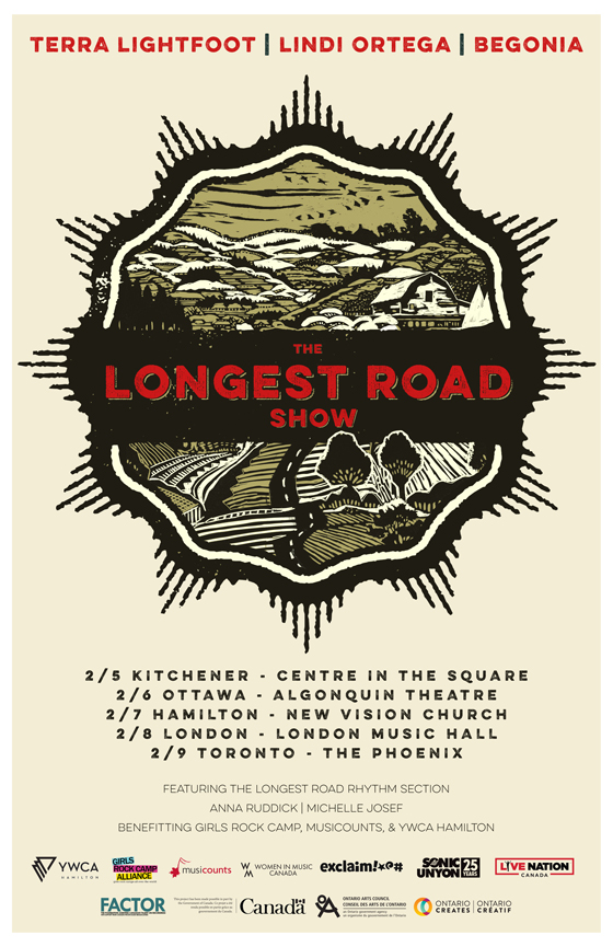"Terra Lightfoot, Lindi Ortega and Begonia Team Up for ""The Longest Road Show"" Tour"