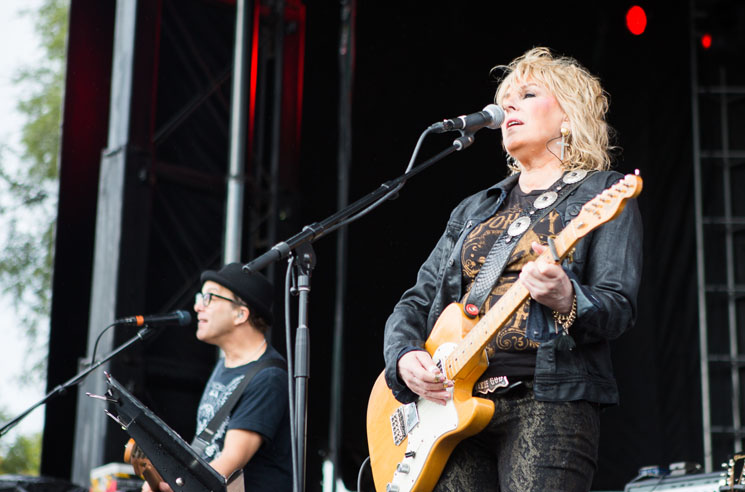 Lucinda Williams Fort York, Toronto ON, September 19