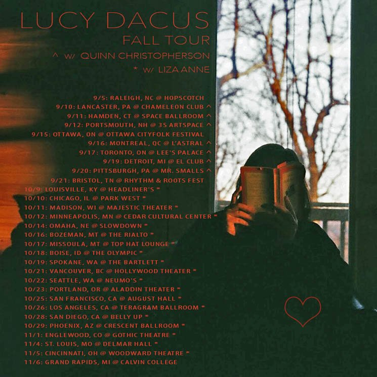 ​Lucy Dacus Brings North American Tour to Montreal, Toronto, Vancouver
