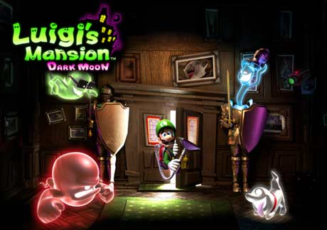 Luigi's Mansion: Dark Moon 3DS