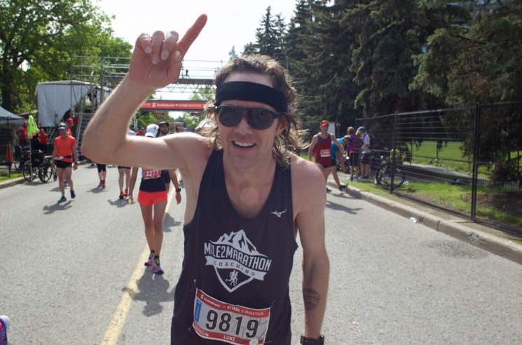 ​Luke Doucet Casually Completes Ottawa Half-Marathon the Morning After His Concert