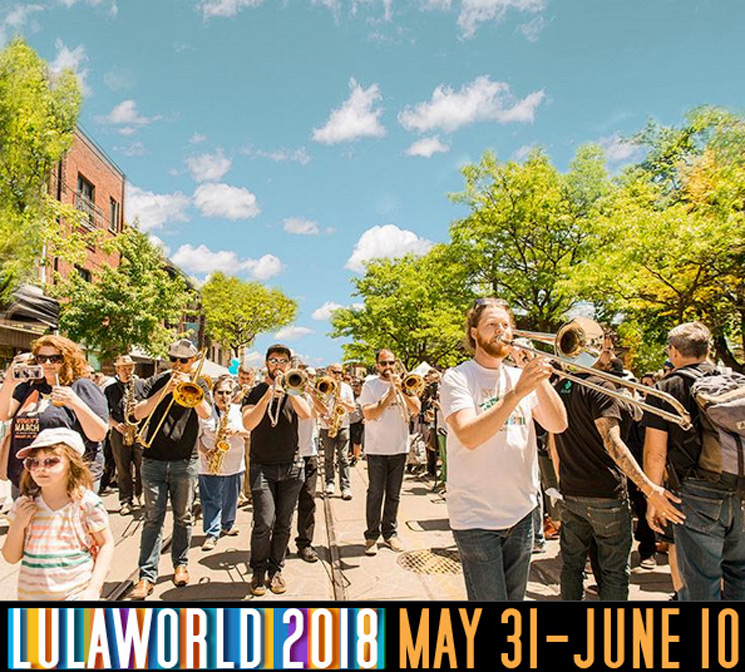 Toronto's Lulaworld Unveils 2018 Lineup