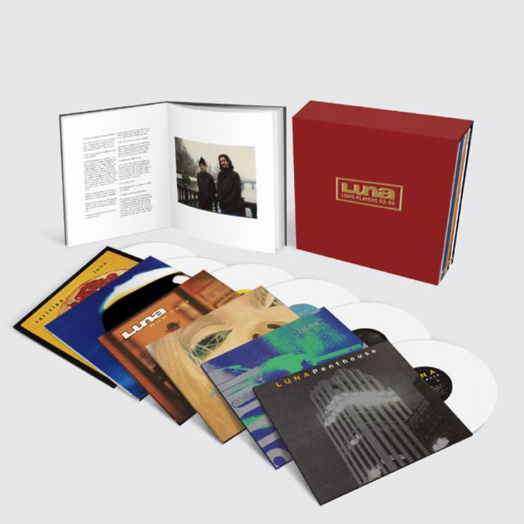 Luna Chronicle First Five LPs with New Box Set