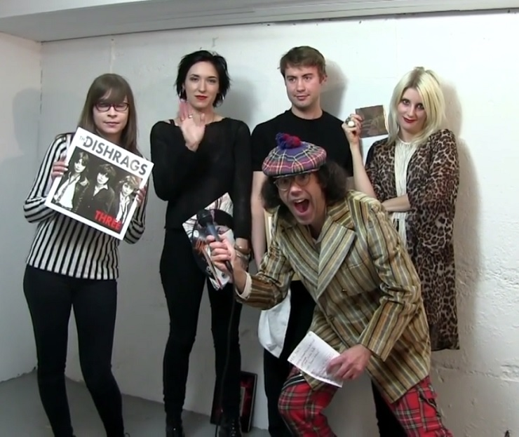 Nardwuar the Human Serviette vs. White Lung