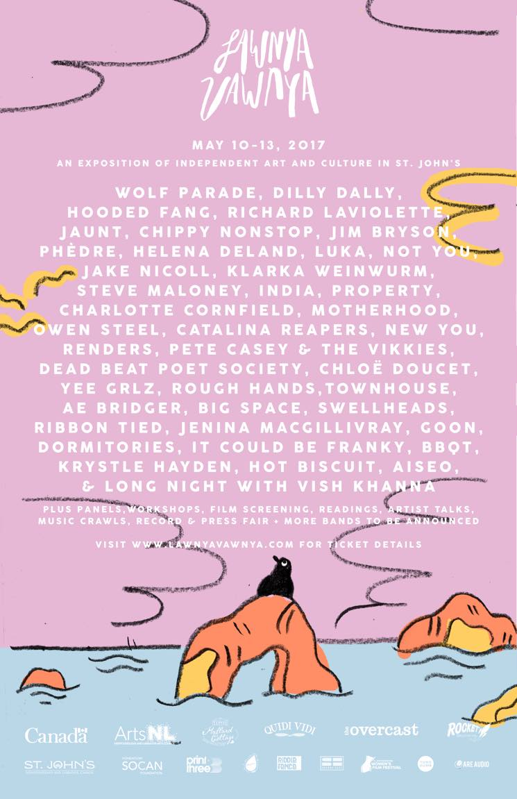 ​Lawnya Vawnya Announces 2017 Lineup with Wolf Parade, Dilly Dally, Hooded Fang