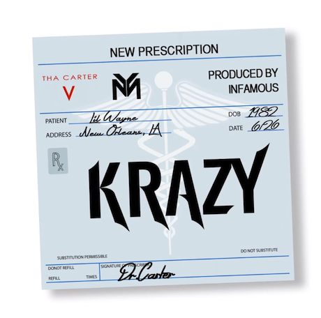 "Lil Wayne ""Krazy"""