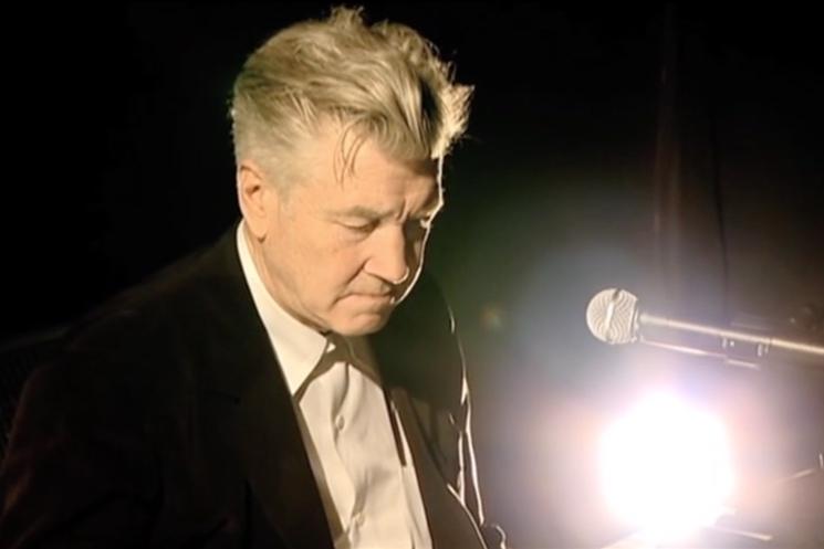 "David Lynch & Marek Zebrowski ""Polish Night Music"" (live video)"