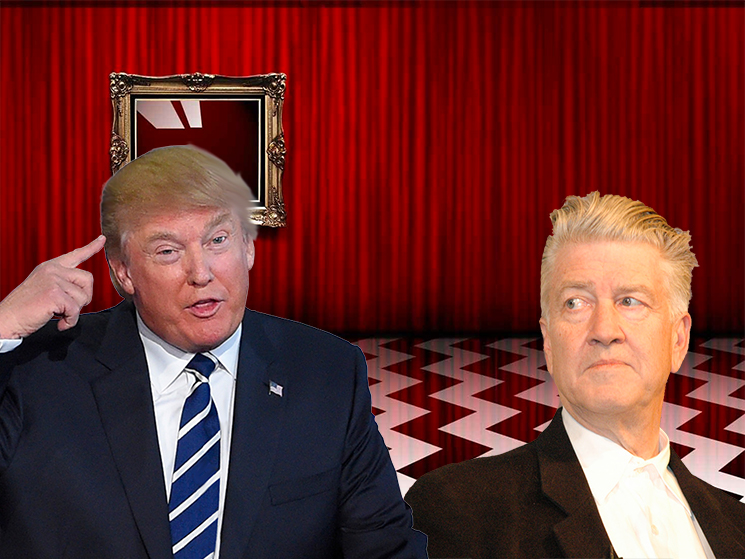 David Lynch and Donald Trump Are Fighting Now