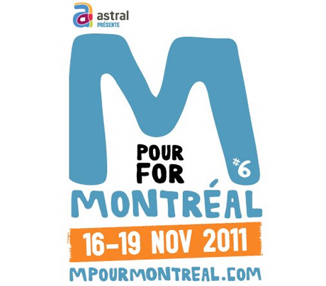 M for Montreal Gets M83, Karkwa, Galaxie, Hollerado for 2011 Edition