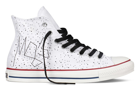 M83 Gets His Own Converse Shoe Design