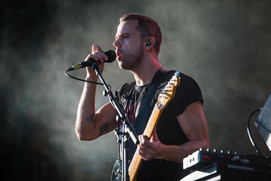 M83 WayHome Stage, Oro-Medonte ON, July 23