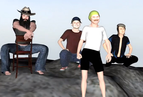 Walter TV Announce North American Tour, Get Animated with Mac DeMarco in New Video