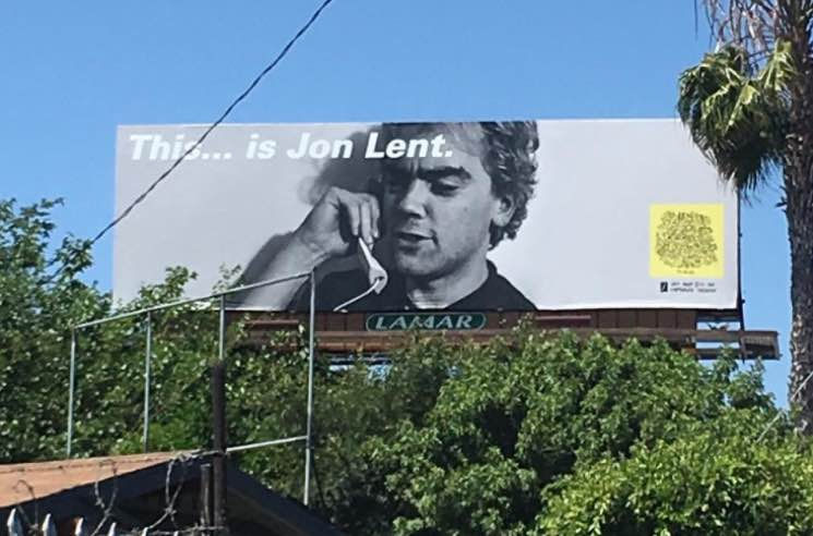 Mac DeMarco Stuck His Bandmate's Face on a Giant Billboard