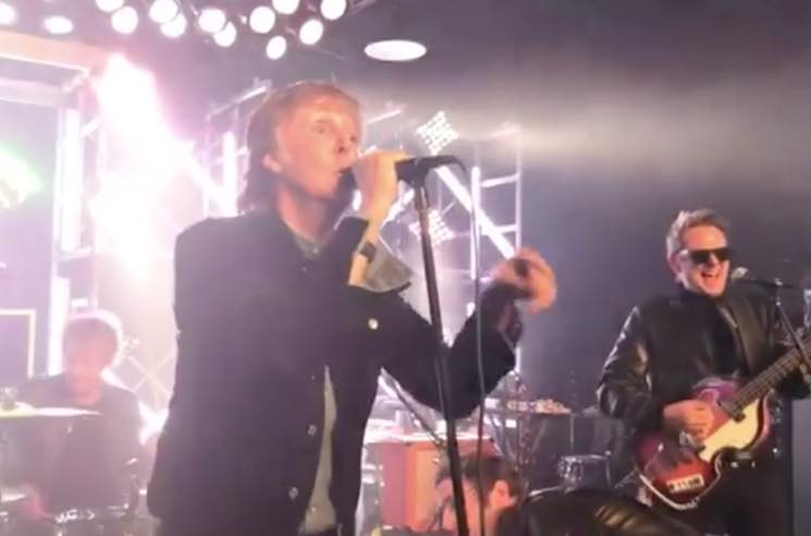 ​Watch Paul McCartney Perform 'Helter Skelter' with Muse's Beatles Cover Band