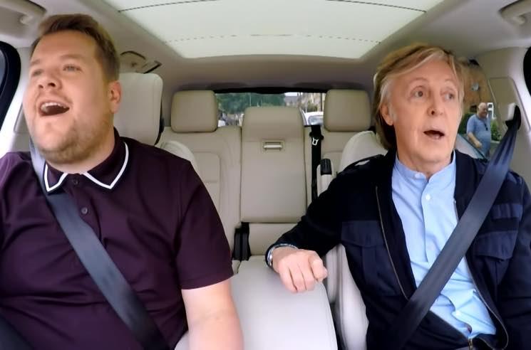 Watch Paul McCartney Ride Along with James Corden on 'Carpool Karaoke'