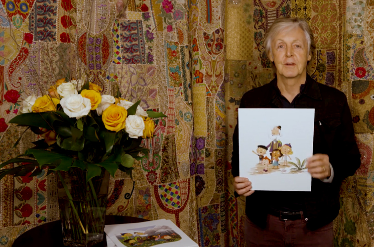 Paul McCartney Pens Children's Book