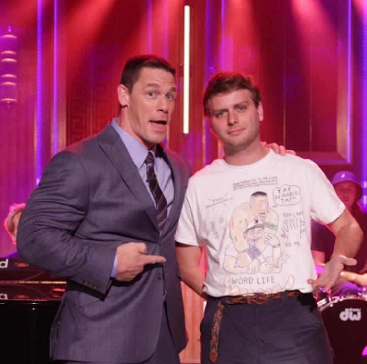 "Mac DeMarco Befriends John Cena, Performs ""Another Love Song"" on 'Fallon'"