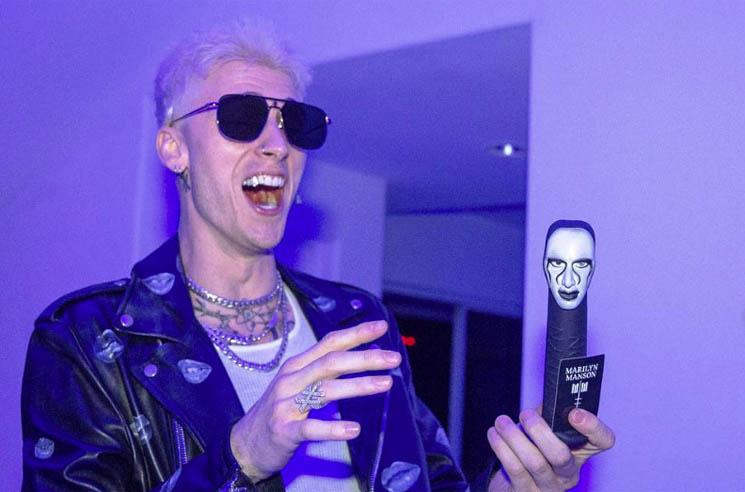 Marilyn Manson Gave Machine Gun Kelly a Marilyn Manson Dildo for His Birthday