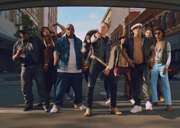 """Macklemore & Ryan Lewis """"Downtown"""" (ft. Eric Nally, Melle Mel, Kool Moe Dee, Grandmaster Caz) (video)"""