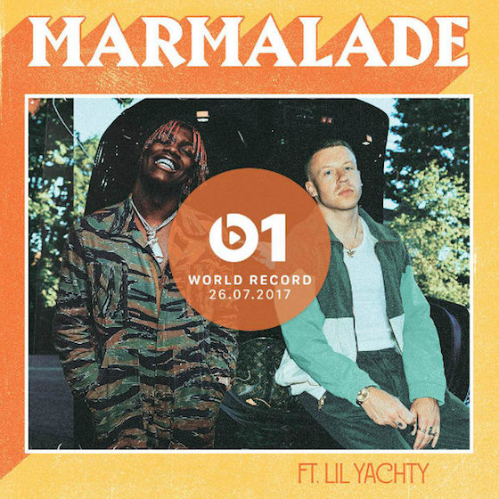 "Macklemore Teams Up with Lil Yachty for ""Marmalade"""