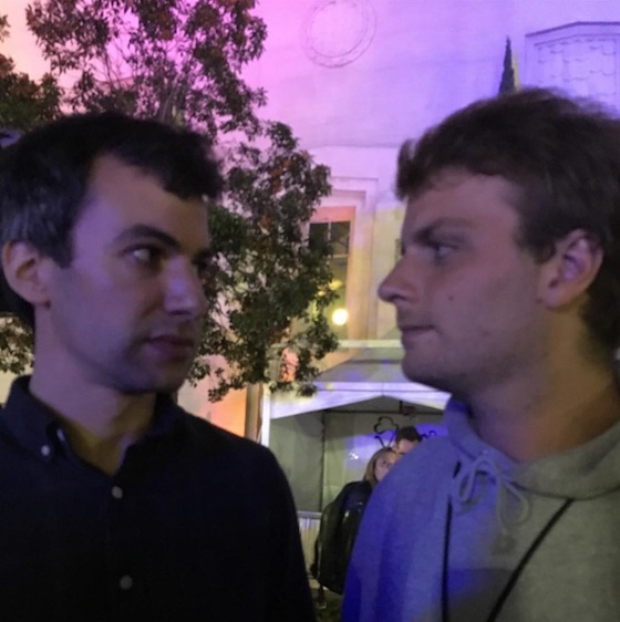 Watch Nathan Fielder Jam with Mac DeMarco at FYF Fest