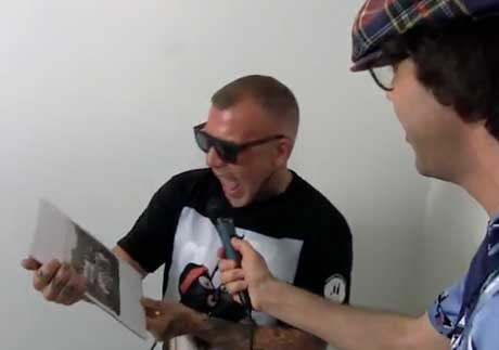 Nardwuar the Human Serviette vs. Madchild