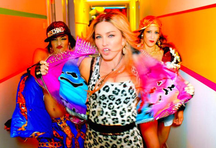 "Madonna ""Bitch I'm Madonna"" (ft. Kanye West, Nicki Minaj, Beyoncé) (video)"