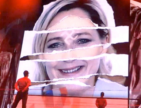 French Political Party to Sue Madonna over Swastika Image