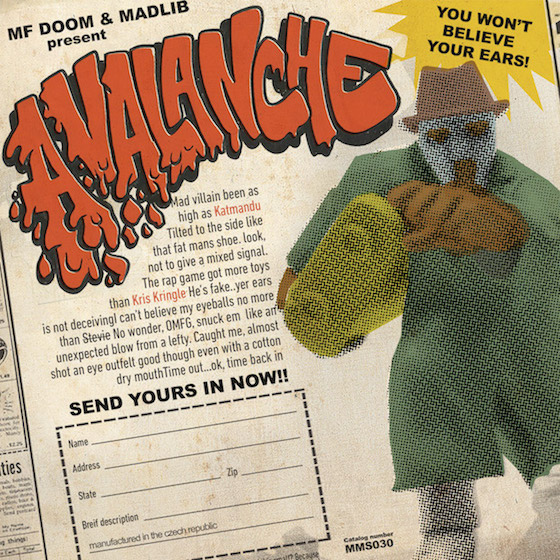 Madvillain Return with New Track, Action Figure
