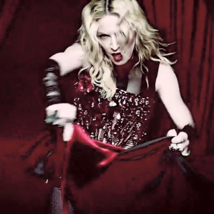 "Madonna ""Living for Love"" (video)"
