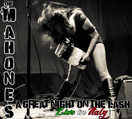 The Mahones 'A Great Night on the Lash: Live in Italy' (album stream)