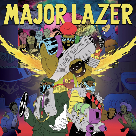 "Major Lazer ""Jessica"" (ft. Ezra Koenig)"